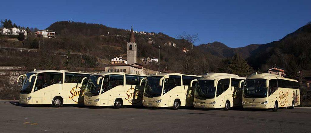 Noleggio pullman a Bergamo e provincia